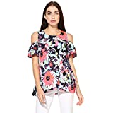 Printed Party Wear Off Shoulder Sleeves Toop For womens By Wabbi