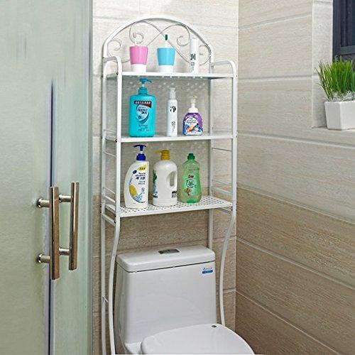 Opiniones hohe cuarto de ba o estantes estanteria estanteria suelo ba os estanteria lavadora - Amazon estanterias bano ...
