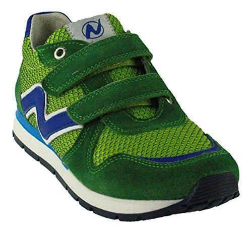 NaturinoNaturino Bomba Vl. - Pantofole Bambino , verde (Verde (Gruen)), 33