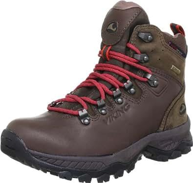 Viking Genesis Track Gore-Tex 3-80155-1808, Unisex-Erwachsene Trekking- & Wanderschuhe, Braun (Dark Brown 1808), EU 48