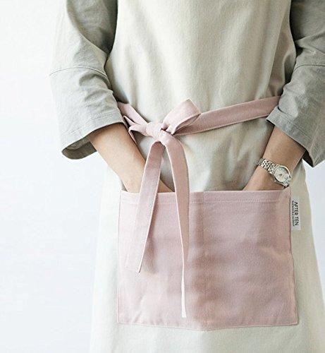 cozymomdeco Chef Works Handmade Apron Japanese Cross Back Organic Cotton Medium indigo...