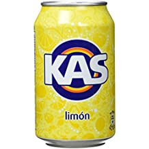 Kas Limón - Bebida refrescante de zumo de fruta, 8 unidades x 330 ml