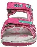Jack Wolfskin Mädchen Acora Sandal G Sport, Pink (Tropic Pink), 28 EU - 4