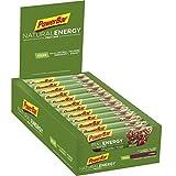 PowerBar Natural Energy Fruit Bar - Barre Fruitée Naturelle Nutritive - Vegan - Canneberge - 24 x 40 g