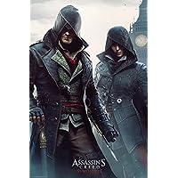 GB eye, Assassins Creed Syndicate, Gang Members, Maxi Poster, 61x91.5cm