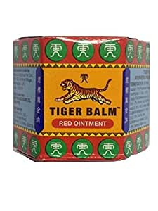 Tiger Balm Ayurvedic Ointment, Red, 18g (Pack of 2)