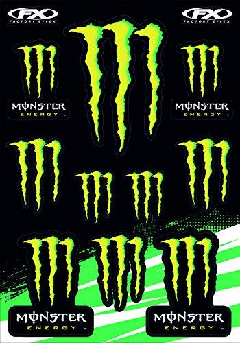 KIT STICKERS ADESIVI MONSTER SPONSOR MOTO HONDA YAMAHA KTM CROSS ENDURO CASCO (43)