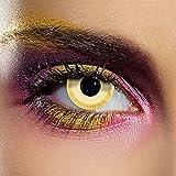 Avatar Farbige Kontaktlinsen Ohne Stärke Gelb (90 Tage)