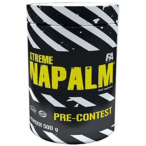 FA Nutrition Xtreme Napalm Pre-contest - 500g - Orange - Pre-workout booster