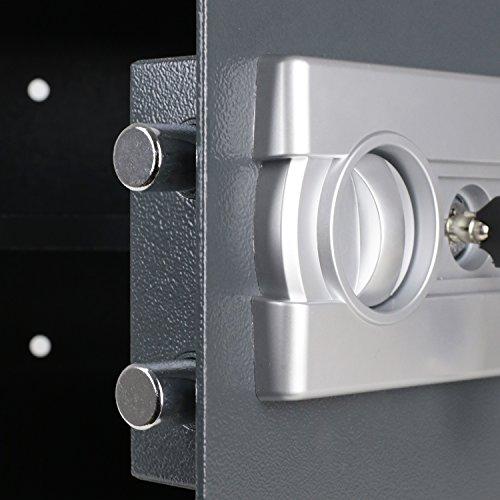 HMF Tresor Safe Möbeltresor Elektronikschloss 380 x 300 x 300 mm - 8