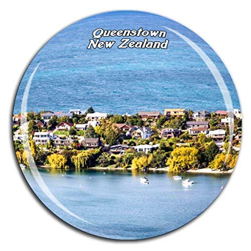 Weekino Queenstown Neuseeland Kühlschrankmagnet 3D Kristallglas Tourist City Travel Souvenir Collection Geschenk Stark Kühlschrank Aufkleber