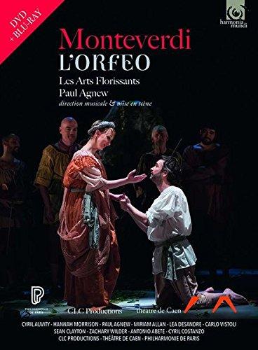 Monteverdi: L\'Orfeo [2 DVDs+Blu-Ray]