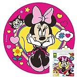 Tortenaufleger von Dekora Tortenbild Zuckerbild Oblate Lizenz Motiv: Disney Minnie Mouse