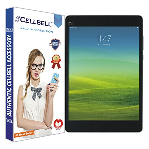 Cellbell Premium Xiaomi Mi Pad/ Mipad Tempered Glass Screen Protector (Comes with Warranty,User guide,Complimentary Prep cloth)