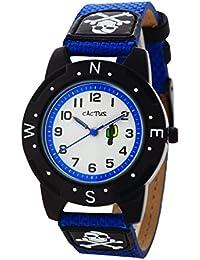 Cactus CAC-73-M04 - Reloj de pulsera niños, Plástico, color Azul