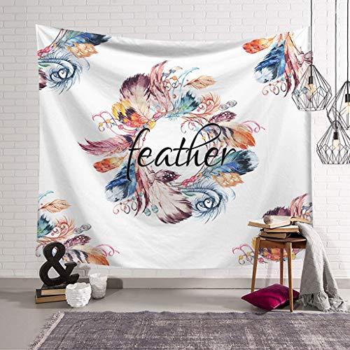 Camera da Letto con arazzo Dream Catcher Hang Cloth Art Murale Arazzo Murale Asciugamano da Spiaggia Ispessimento Decorazione della casa (Colore : D, Dimensioni : 95x73)