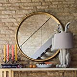 Wall Mirror (Metallic Brown)