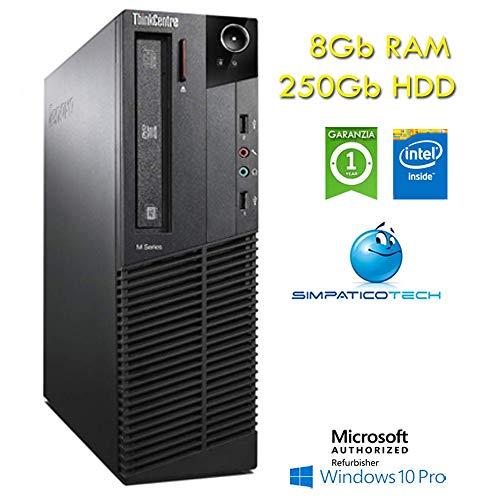 Lenovo Thinkcentre M82 SFF PC Intel Pentium G2020 8 GB...
