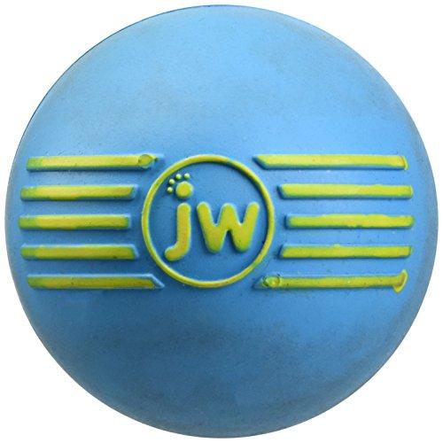 J.W. JW JW443030 Isqueak Ball Small, Quietschen Dicker Gummiball für Hunde, S -
