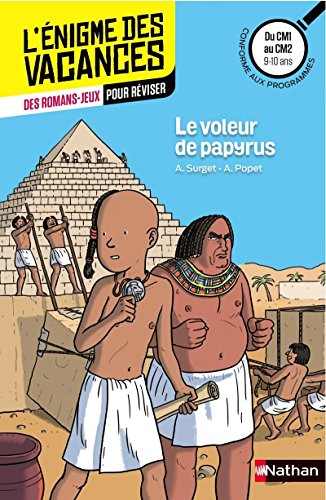 Le voleur de papyrus - Cahier de vacances