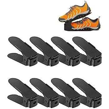 6d05b5d0a13d1 Lot De 8 Réglable à chaussures pour empiler les chaussures