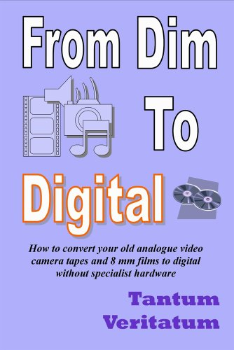 From Dim to Digital: How to Convert Your Old Analogue Video Camera Tapes and 8mm Films to Digital Without Specialist Hardware (English Edition) Digital 8-mm-video