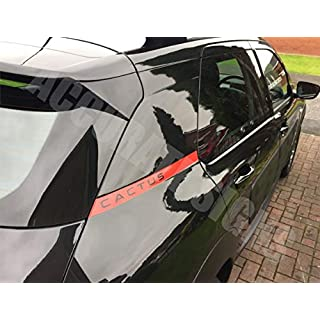 accuratesigns Citroen C4 Cactus Graphics Decal Sticker Kit
