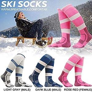 Class-Z Kinder Unisex Skisocken,Socken Strümpfe Ski mit Skifahren, Wandern, Bergsteigen und andere Outdooraktivitäten