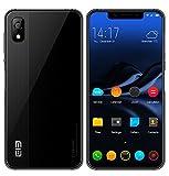 ELEPHONE A4 - 5,85 Zoll HD + (19: 9 Notch-Bildschirm) Android 8.1 4G Smartphone, MT6739 Quad-Core 1,5 GHz 3 GB + 16 GB, 5MP + 13MP Dual-Kamera, 3000mAh Akku - Schwarz