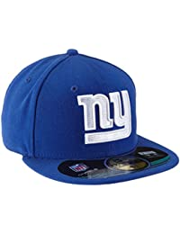 New Era Erwachsene Baseball Cap Mütze NFL On Field New York Giants 59 Fifty Fitted