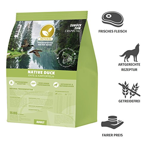 Hundeland Natural | Wild Duck | 15 kg - 2