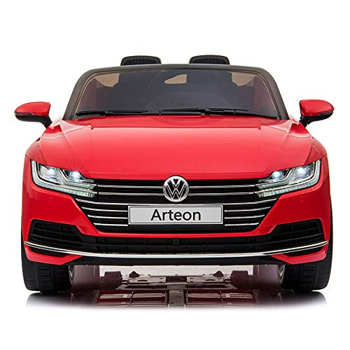 cristom Voiture électrique 12V pour Enfant - License Volkswagen Arteon - telecommande Parental...