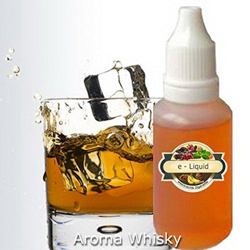 Preisvergleich Produktbild E-Zigarette LiqC Aroma Nachfüllflüssigkeit 10ml Flasche eLiquid Aroma Whisky