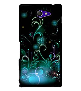 printtech Cool Design Back Case Cover for Sony Xperia M2 Dual D2302 , Sony Xperia M2