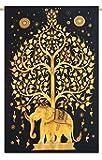 "Handicrunch Indian Tapisserie Wandbehang böhmischen Natur Dorm Room Wandteppiche voller Größe 84 ""x 56"""