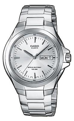 CASIO MTP1228D7AVEF - Reloj de caballero de cuarzo, correa de acero inoxidable color varios colores