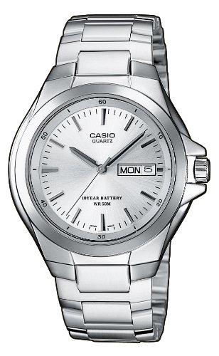 CASIO MTP1228D7AVEF – Reloj de caballero de cuarzo, correa de acero inoxidable color varios colores