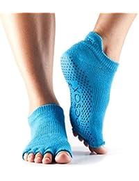 Mesdames 1 Paire ToeSox Low Rise pleine Toe coton biologique Chaussettes