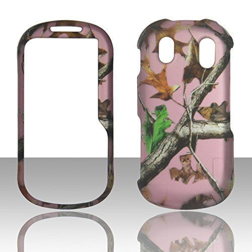 2D Pink Camo Trunk V Real Samsung Intensity II 2 U460 Verizon Case Cover Hard Phone Case Snap-on Cover Rubberized Touch realtree Faceplates