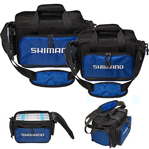 Shimano baltica tackle bags, navy blue