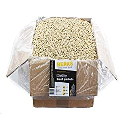 BEAKS wild bird food NUTTY Suet feed Pellets 12.75kg free P&P