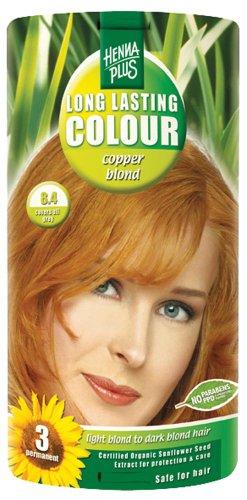 Hennaplus 49135 Long Lasting Colour 8,4 Copper Blond