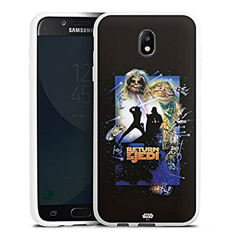 Samsung Galaxy J7 2017 Silikon Hülle Case Schutzhülle Star Wars Merchandise Fanartikel Return Of The Jedi