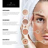 Junglück veganes Vitamin C Serum in Braunglas - Anti-Aging durch Feuchtigkeitspflege für Gesicht & Haut - Kollagen Booster - natürliche Kosmetik made in Germany - 50ml - 4
