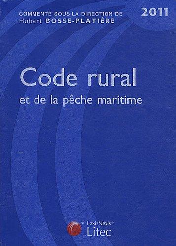 Code rural et de la pêche maritime 2011