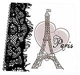 3dRose db_162268_1 Paris Eiffel Tower wi...
