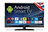 Cello C24ANSMT 24-Inch Android Smart LED TV with Wi-Fi and Freeview T2 HD - Black
