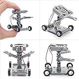 VIDOO DIY-Montage Salzwasser Betriebene Roboter-Kit Kids Science Educational Spielzeug