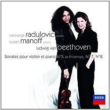 Beethoven: Sonatas for Violin and Piano No. 5 Spring, No. 7, No. 8