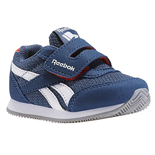 Reebok Bd5174, Sneakers trail-running garçon Bleu (Brave Blue/carotene/white)